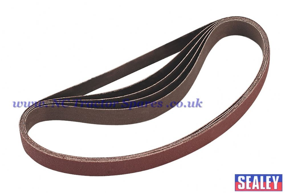 Sanding Belt 80Grit 20 x 520mm Pack of 5